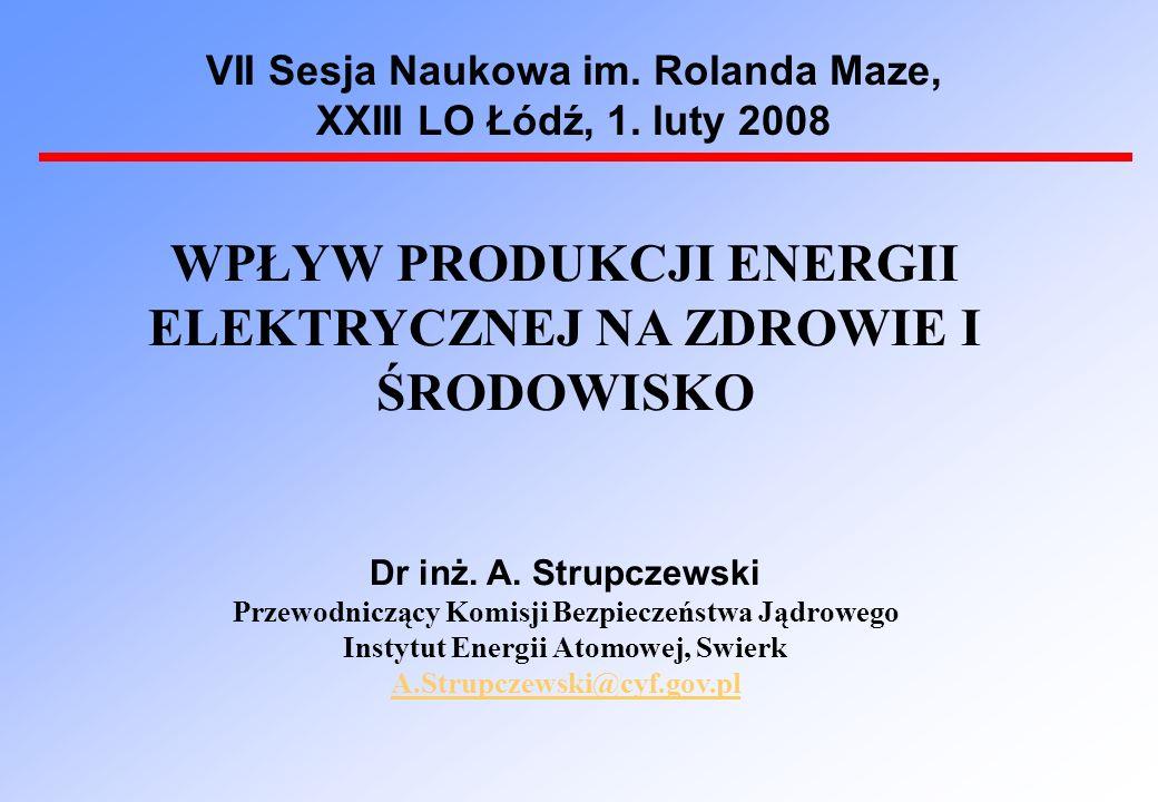 VII Sesja Naukowa im. Rolanda Maze, XXIII LO Łódź, 1.