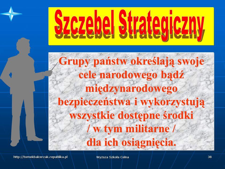 http://tomekbalcerzak.republika.pl Wyższa Szkoła Celna 37