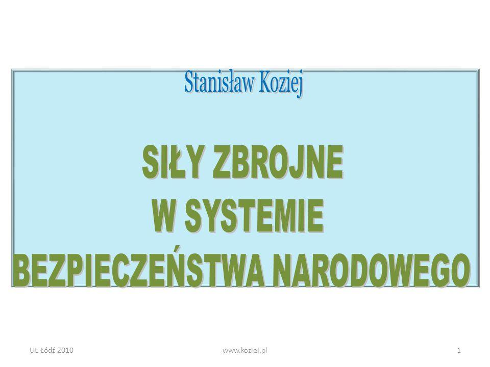 UŁ Łódź 2010www.koziej.pl1