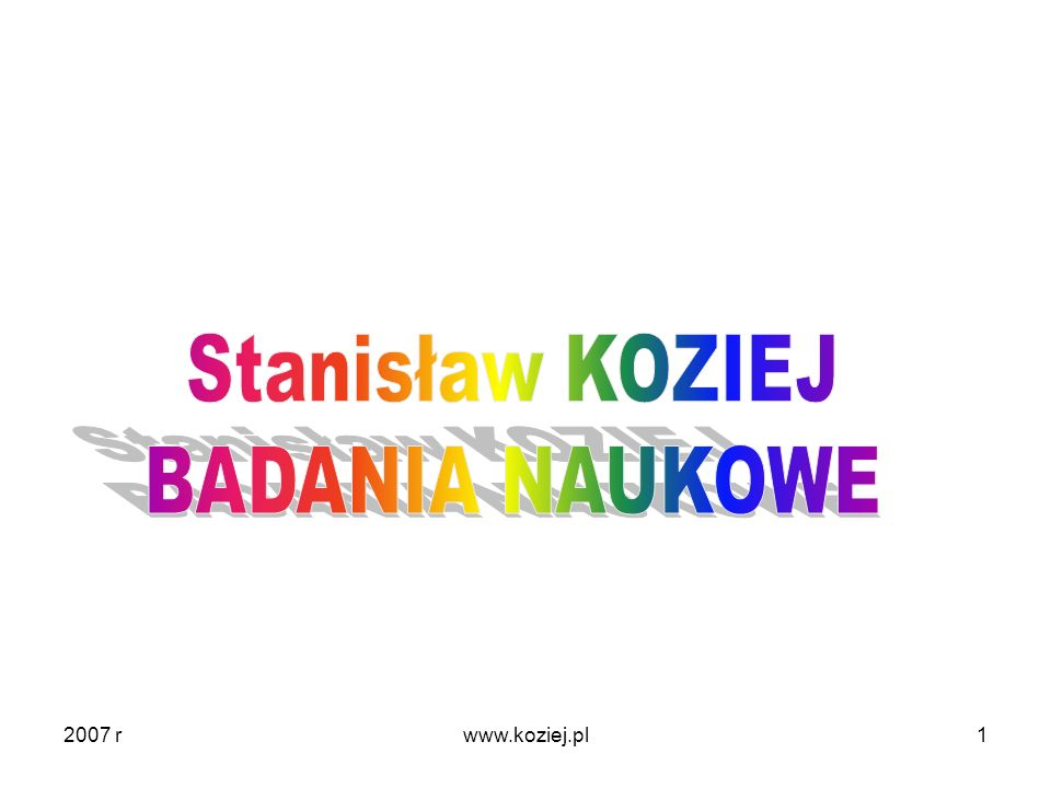 2007 r1www.koziej.pl