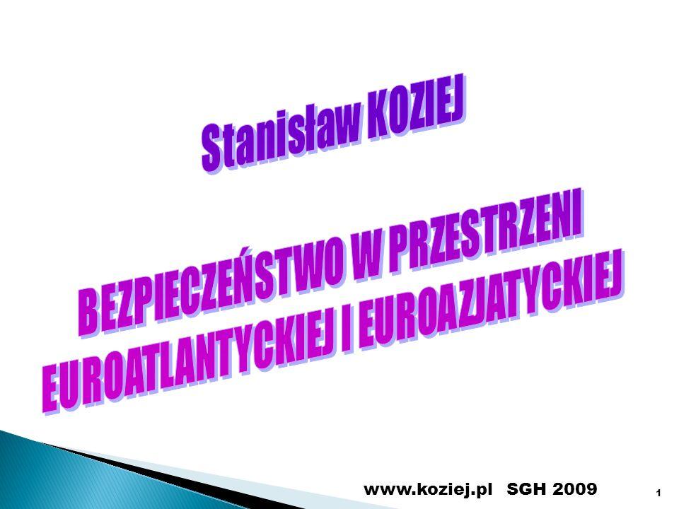 SGH 2009www.koziej.pl 1