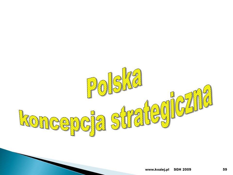 SGH 2009www.koziej.pl59