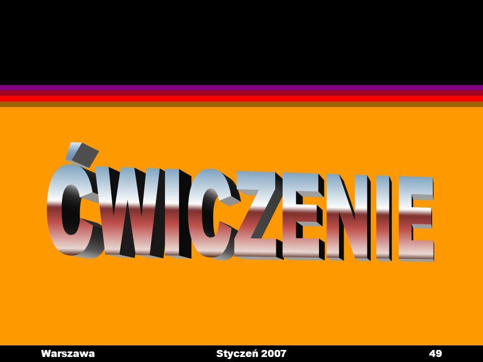 WarszawaStyczeń 200749