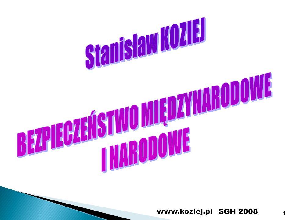 SGH 2008www.koziej.pl 1
