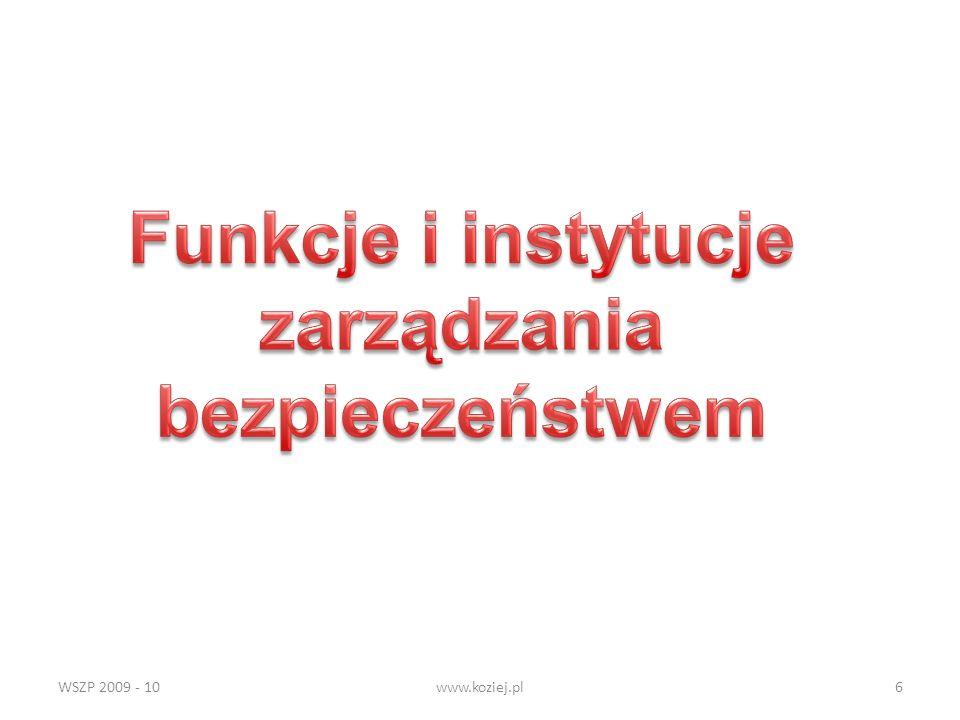 WSZP 2009 - 10www.koziej.pl6
