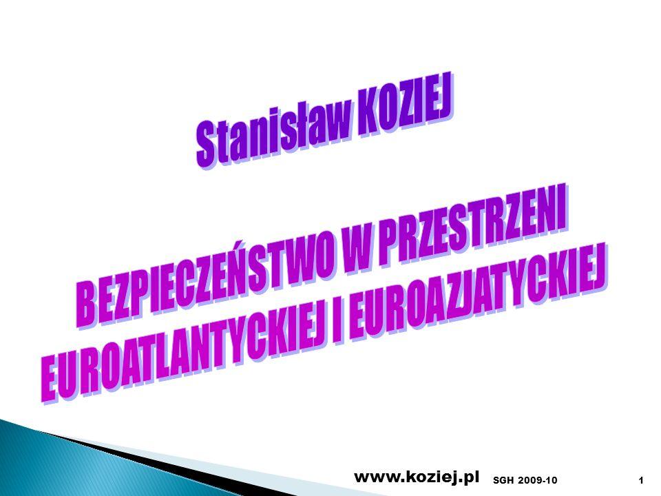 www.koziej.pl 1SGH 2009-10