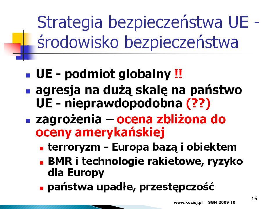 27www.koziej.plSGH 2009-10
