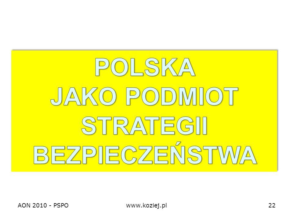 AON 2010 - PSPOwww.koziej.pl22