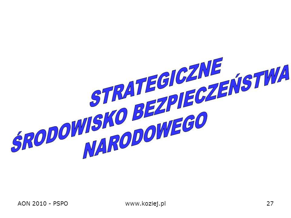 AON 2010 - PSPOwww.koziej.pl27
