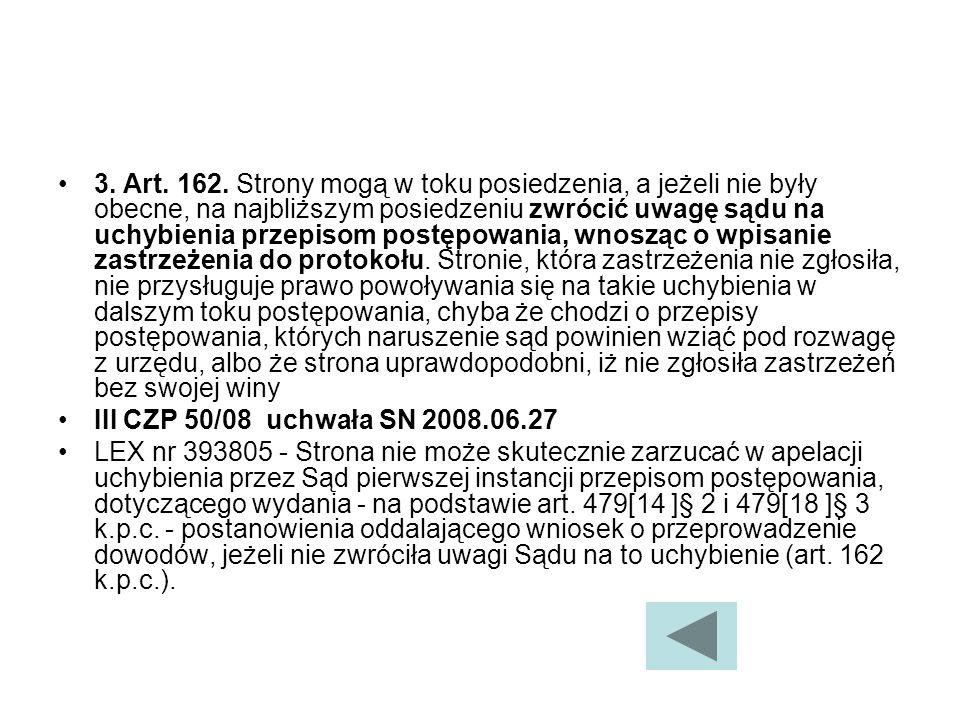 3.Art. 162.