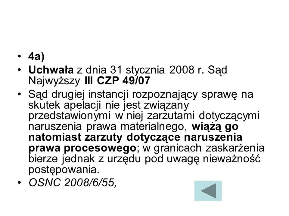 4a) Uchwała z dnia 31 stycznia 2008 r.