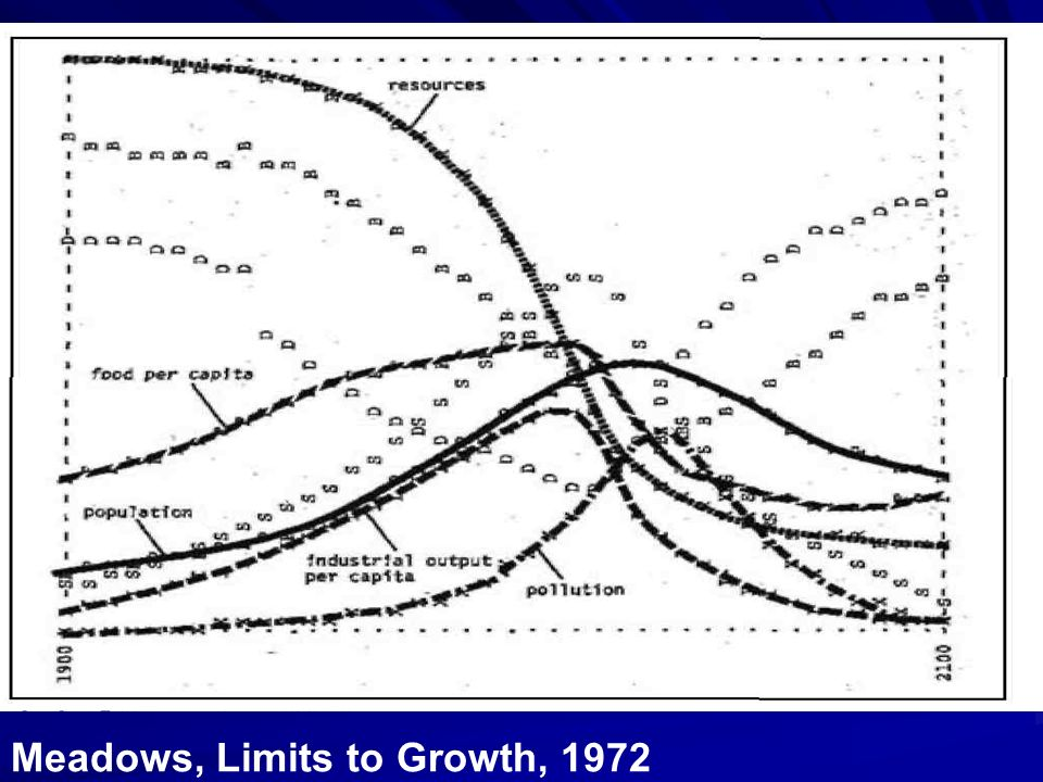 Meadows, Limits to Growth The 30-Year Update, 2004.