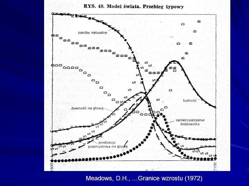 1992 r.Prognoza ostrzegawcza D.H. Meadows, et al.