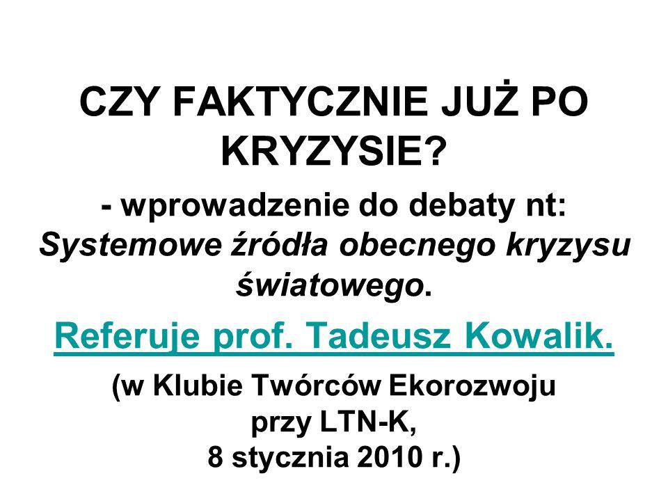 Lesław Michnowski Członek Komitetu Prognoz Polska 2000 Plus przy Prezydium Polskiej Akademii Nauk http://www.psl.org.pl/kte kte@psl.org.pl http://www.psl.org.pl/kte kte@psl.org.pl
