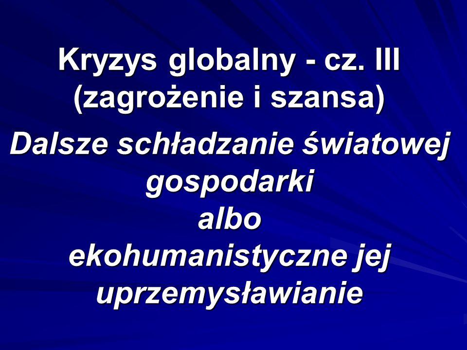 Kryzys globalny - cz.
