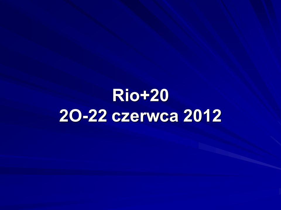 Rio+20 2O-22 czerwca 2012