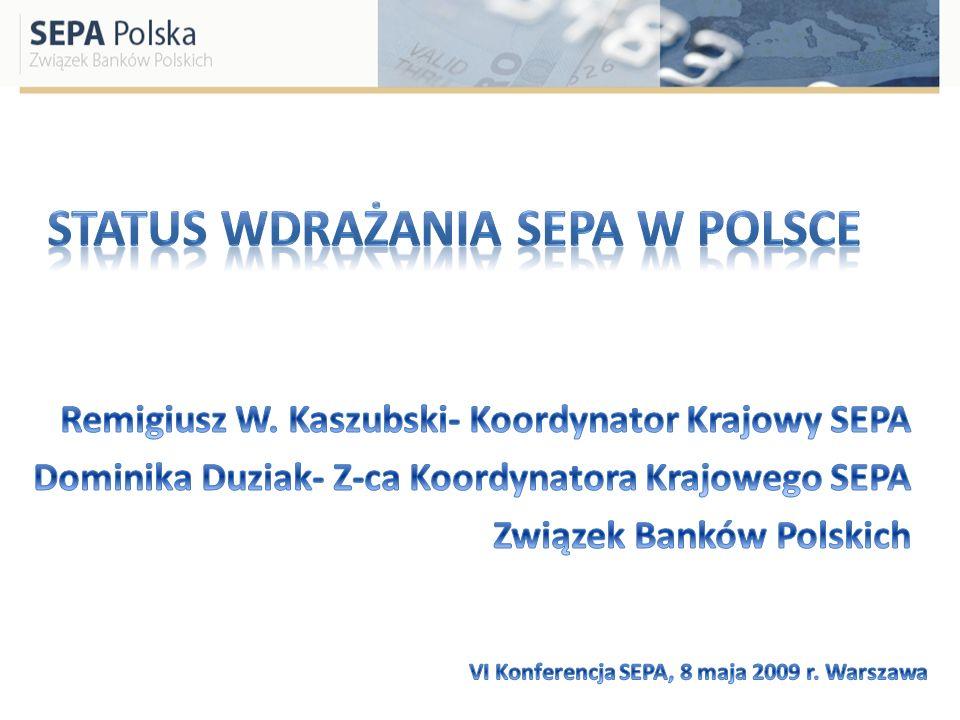 DZIŚ DOCELOWO PO WPROWADZENIU EURO PLN EuroSEPA Inne płatności w euro (instrumenty niszowe, TARGET2 itp.)