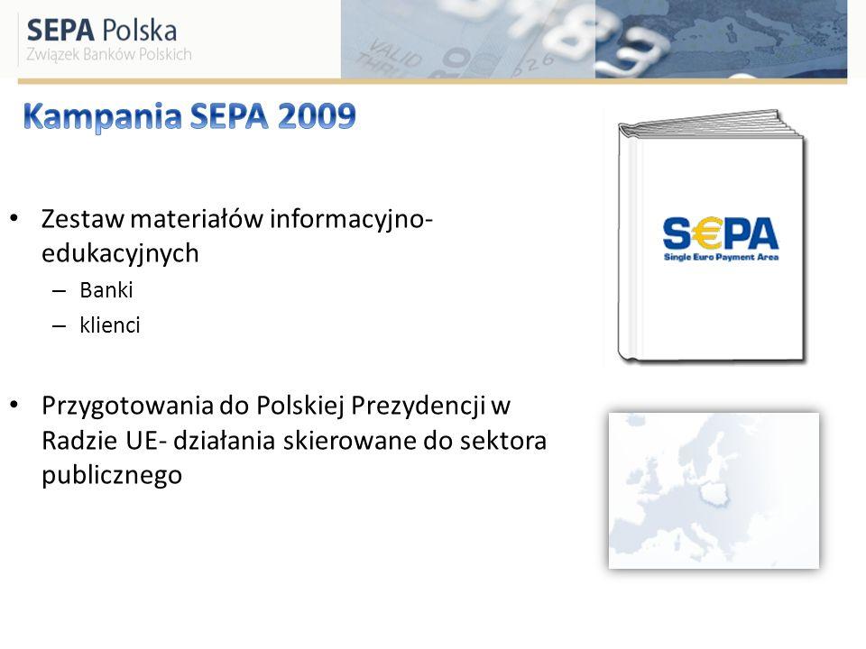 Zestaw materiałów informacyjno- edukacyjnych – Banki – klienci Przygotowania do Polskiej Prezydencji w Radzie UE- działania skierowane do sektora publ
