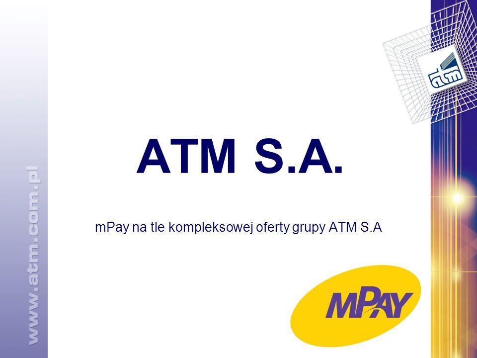 ATM S.A. mPay na tle kompleksowej oferty grupy ATM S.A