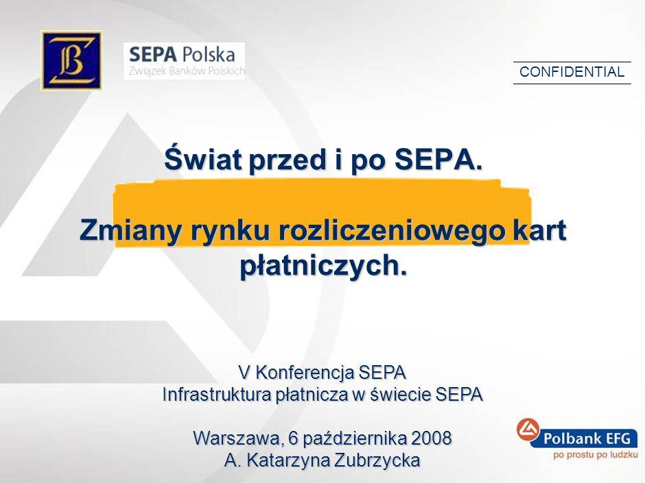 Świat przed i po SEPA.Zmiany rynku rozliczeniowego kart płatniczych.