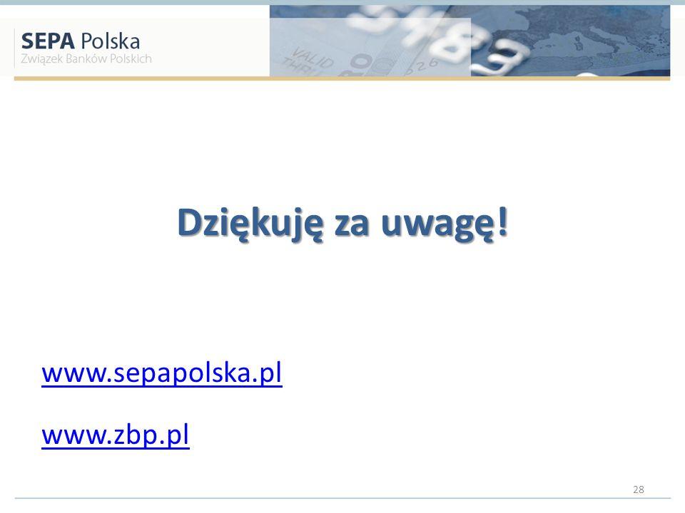 Dziękuję za uwagę! www.sepapolska.pl www.zbp.pl 28