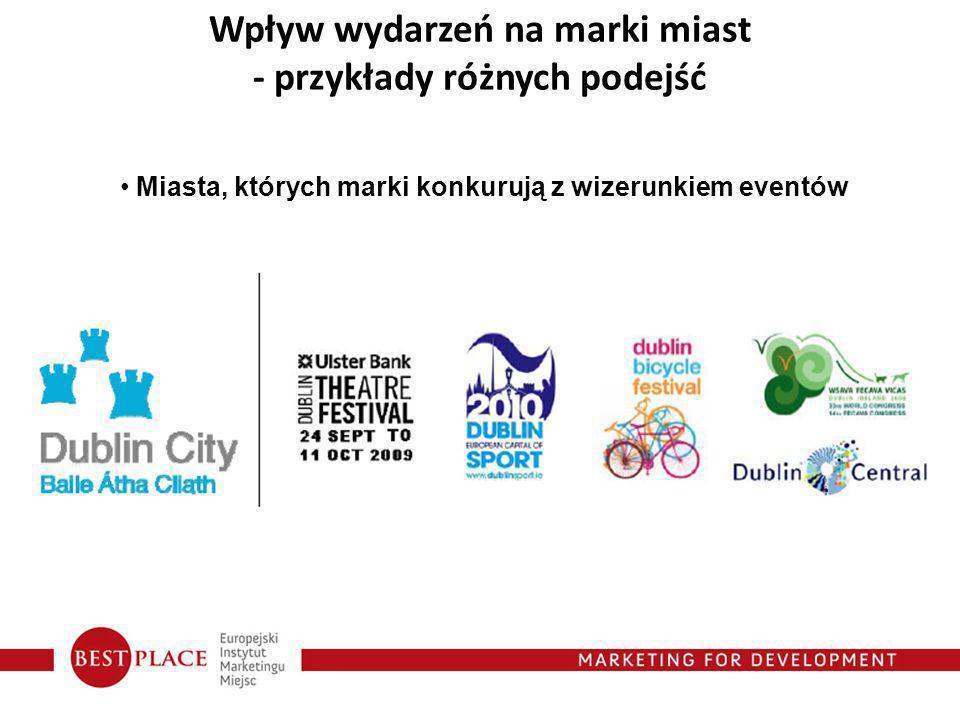 Miasta, których marki konkurują z wizerunkiem eventów Wpływ wydarzeń na marki miast - przykłady różnych podejść