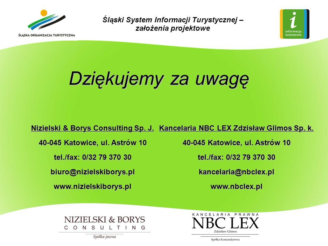 Dziękujemy za uwagę Nizielski & Borys Consulting Sp.