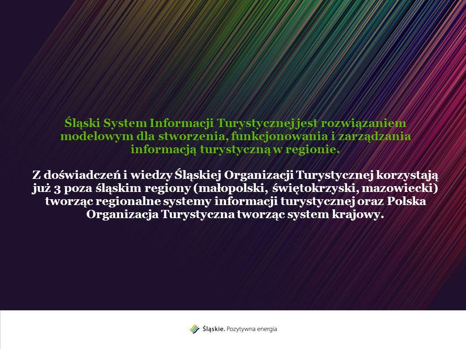 Śląski System Informacji Turystycznej jest rozwiązaniem modelowym dla stworzenia, funkcjonowania i zarządzania informacją turystyczną w regionie. Z do