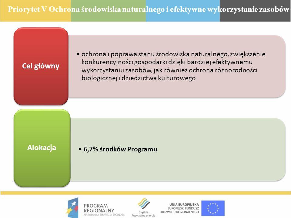ochrona i poprawa stanu środowiska naturalnego, zwiększenie konkurencyjności gospodarki dzięki bardziej efektywnemu wykorzystaniu zasobów, jak również