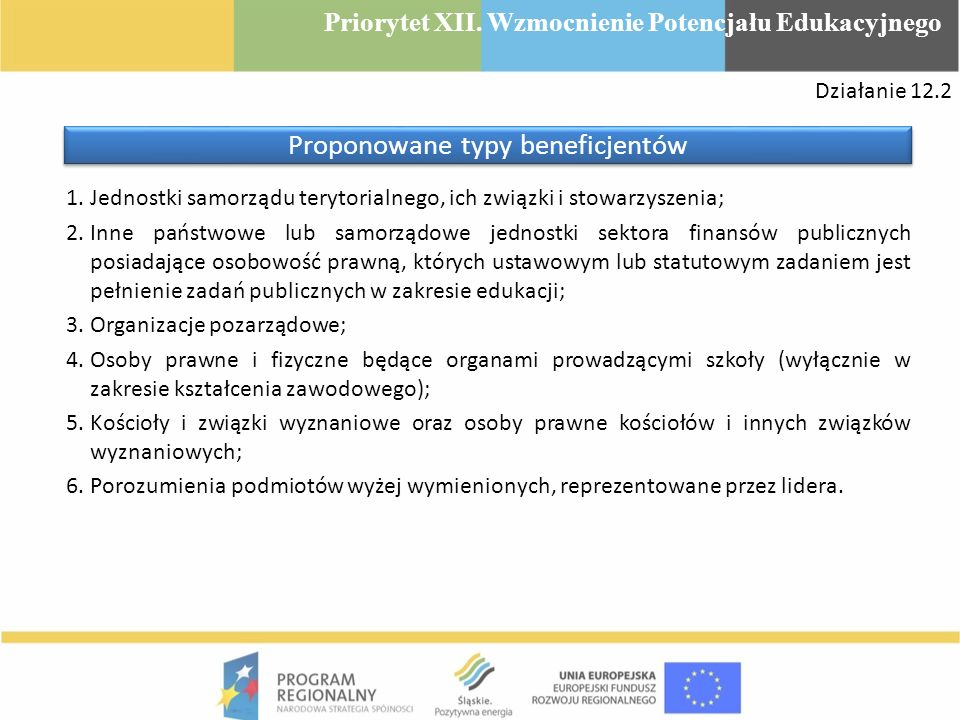 1.Jednostki samorządu terytorialnego, ich związki i stowarzyszenia; 2.Inne państwowe lub samorządowe jednostki sektora finansów publicznych posiadając