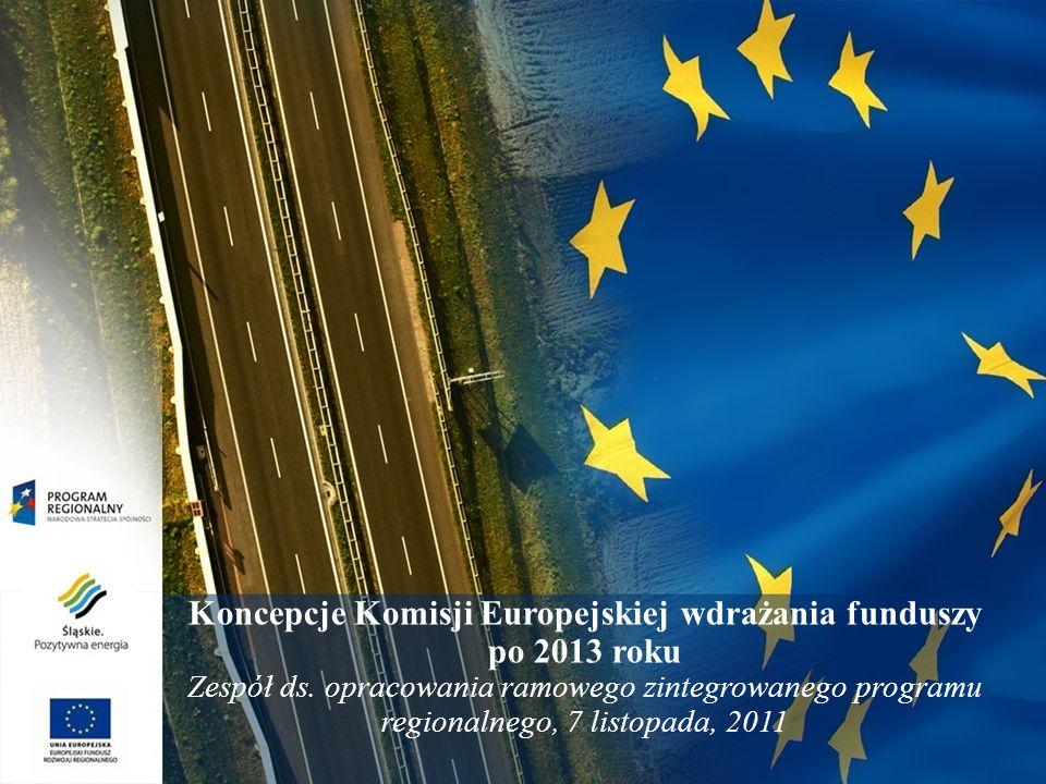 2 Nowa Polityka Spójności - nowa polityka inwestycyjna Cele bieżącej i przyszłej polityki: 2007-2013 Konwergencja Regionalna konkurencyjność i zatrudnienie Europejska współpraca terytorialna 2014-2020 Inwestowanie dla wzrostu i zatrudnienia Europejska współpraca terytorialna