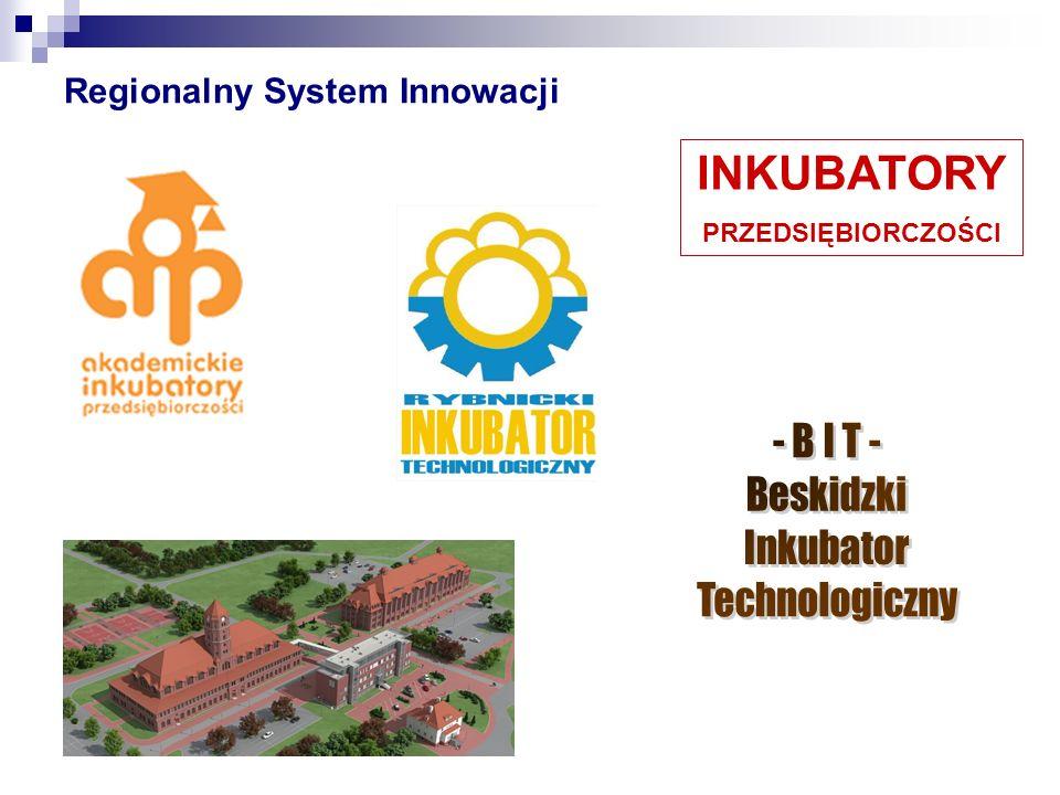 Regionalny System Innowacji INKUBATORY PRZEDSIĘBIORCZOŚCI