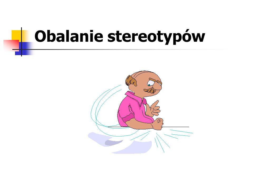Obalanie stereotypów