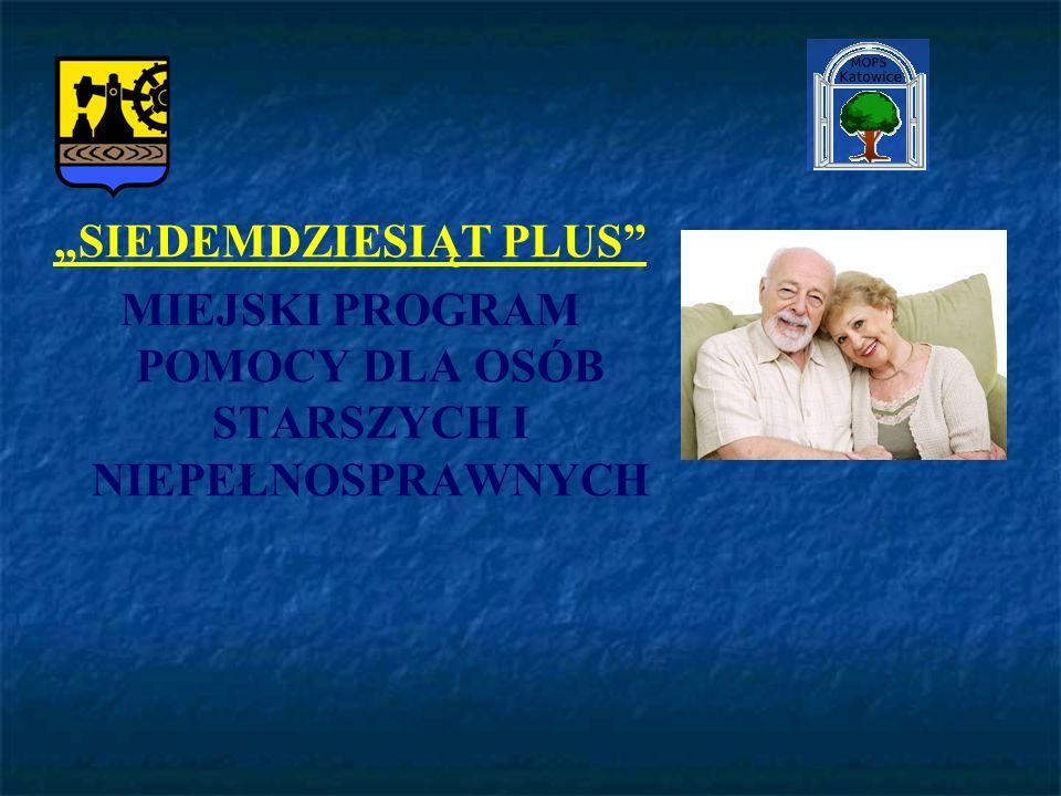 Program 70+ ma na celu podniesienie jakości życia osób po ukończeniu 70 roku życia.