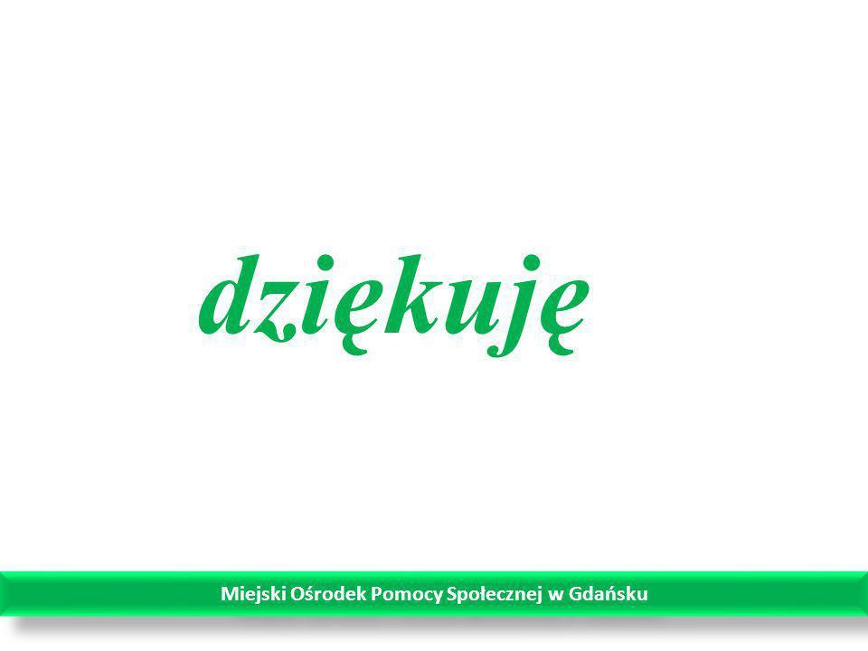 dziękuję Miejski Ośrodek Pomocy Społecznej w Gdańsku