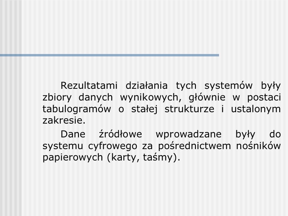 Moduły te są też czasem określane jako systemy informowania zarządu.