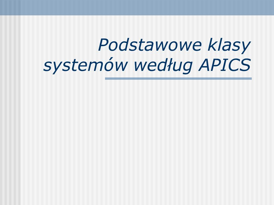 Systemy te udostępniają zapotrzebowania materiałowe (netto) do planowanych zleceń produkcyjnych, w ujęciu ilościowym i wartościowym.