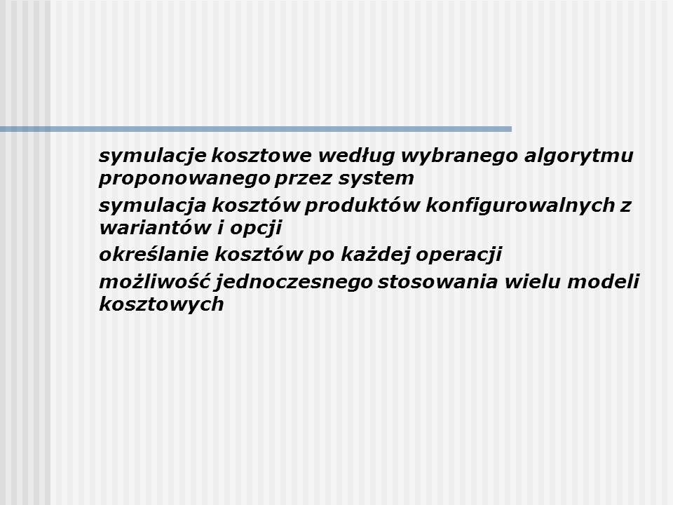Dystrybucja Rachunkowość Finanse Księgowość Sprzedaż Obrót materiałowy Zakupy Produkcja Dystrybucja Harmonogram główny MPS MRP Zarządzanie operatywne Koszty