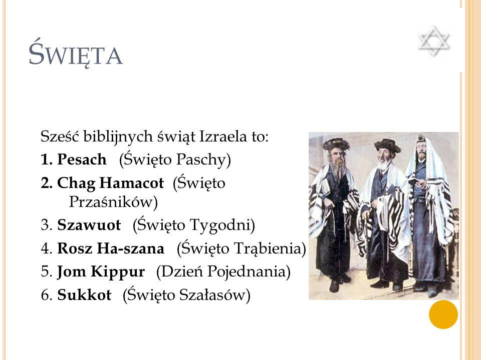 K ALENDARZ ŻYDOWSKI Rok żydowski składa się z 12 miesięcy W roku przestępnym - trzynasty miesiąc Nowy rok żydowski rozpoczyna się jesienią (tisziri) S