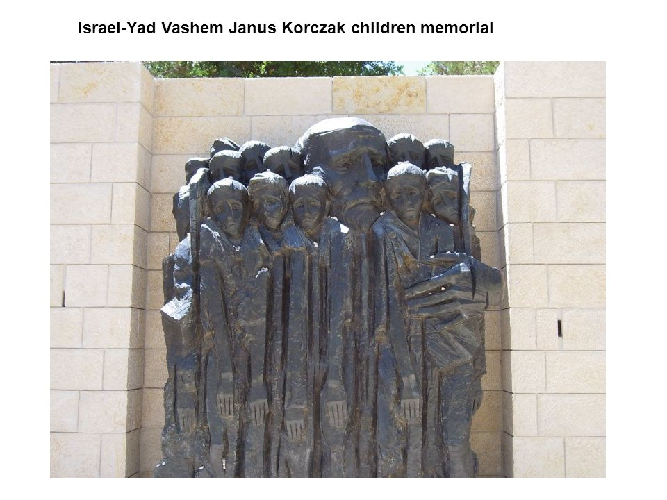 Israel-Yad Vashem Janus Korczak children memorial