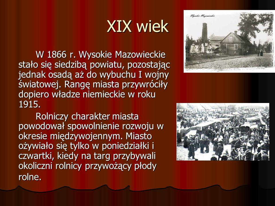 XVI – XVIII wiek W drugiej połowie XVI wieku miasto przeszło w ręce Radziwiłłów, a następnie było własnością innych rodów. Częste zmiany właścicieli h