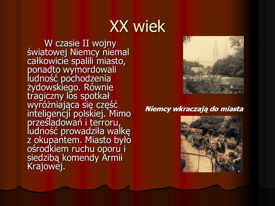 XIX wiek W 1866 r. Wysokie Mazowieckie stało się siedzibą powiatu, pozostając jednak osadą aż do wybuchu I wojny światowej. Rangę miasta przywróciły d
