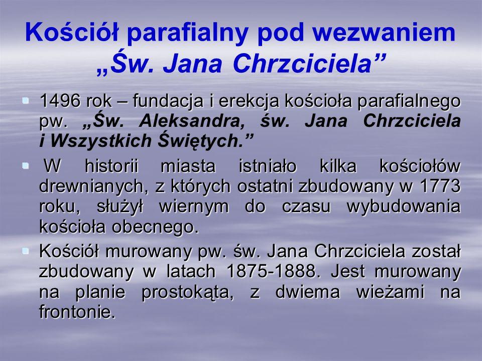 Kościół parafialny pod wezwaniemŚw.Jana Chrzciciela Kościół parafialny w Wysokiem Mazowieckiem.