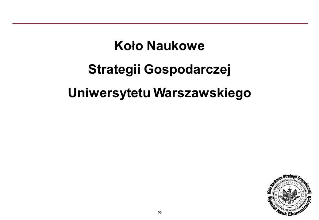 P0 Koło Naukowe Strategii Gospodarczej Uniwersytetu Warszawskiego