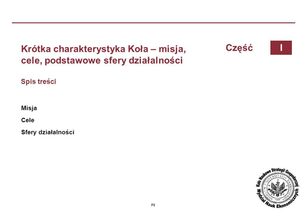 P12 Działalność naukowa – projekty naukowo-badawcze Spis treści Badanie strategii gmin i sposobów pozyskiwania środków na ich realizacje Pomoc przy realizacji projektów naukowo-badawczych kadrze wydziału CzęśćIV