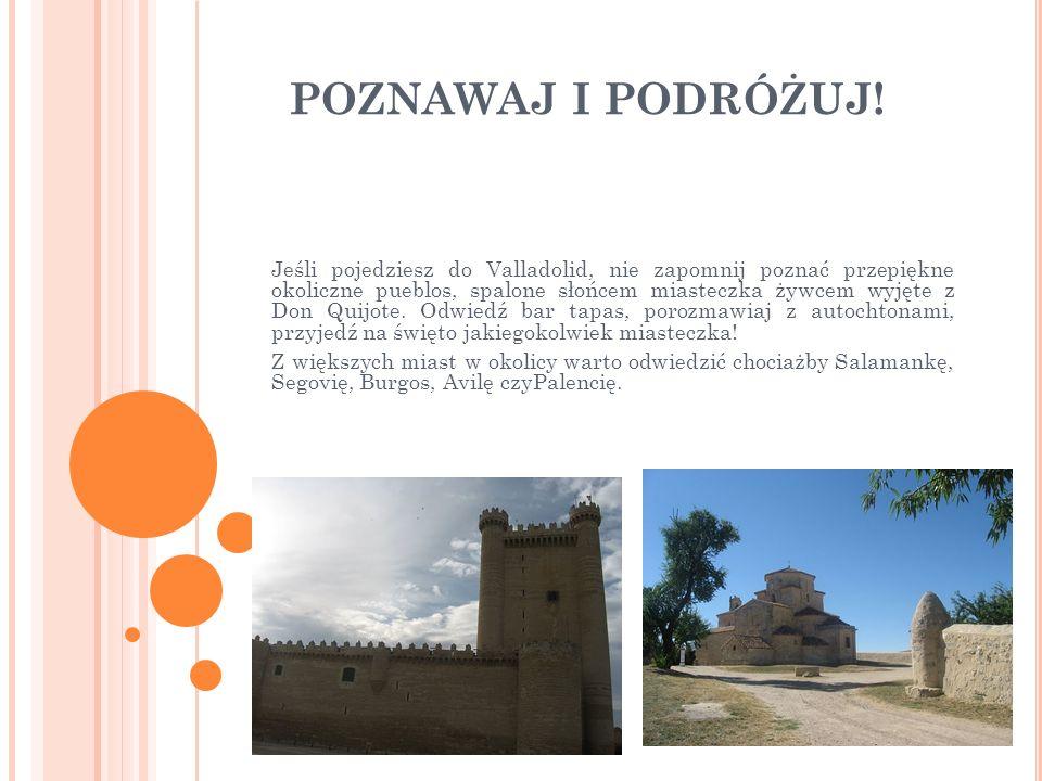 POZNAWAJ I PODRÓŻUJ! Jeśli pojedziesz do Valladolid, nie zapomnij poznać przepiękne okoliczne pueblos, spalone słońcem miasteczka żywcem wyjęte z Don