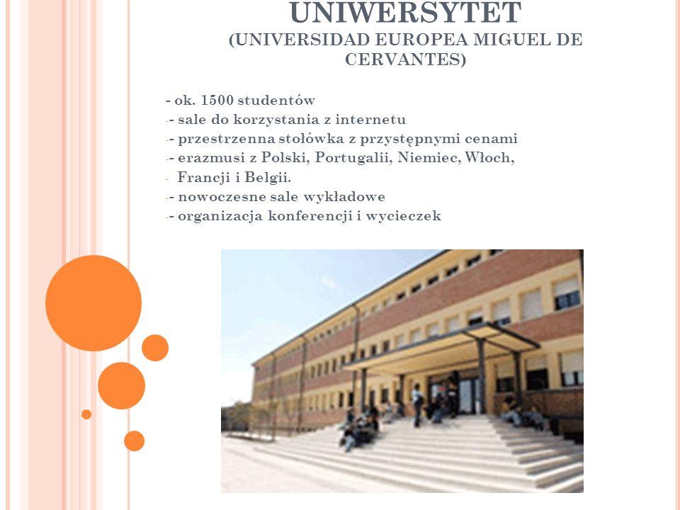 UNIWERSYTET (UNIVERSIDAD EUROPEA MIGUEL DE CERVANTES) - ok.