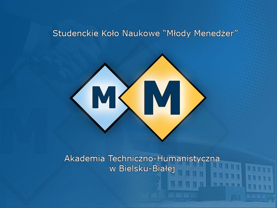 Koło Naukowe Młody Menedżer jest organizacją studencką z pasją.