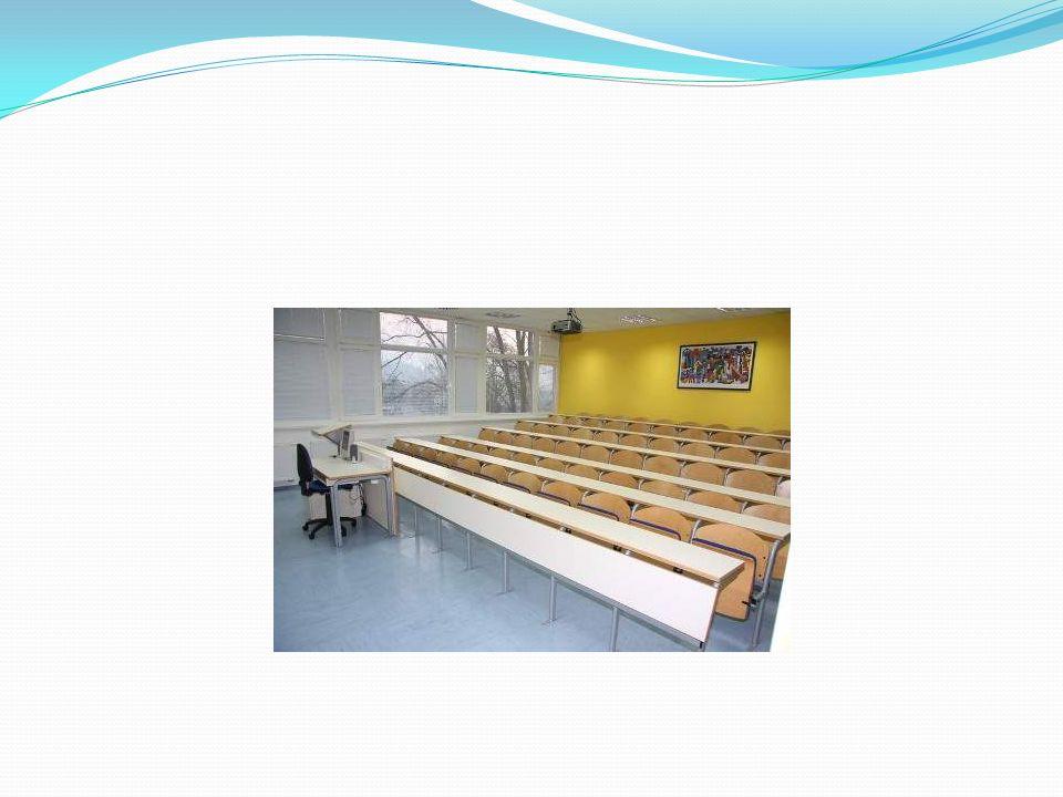 Wyposażenie szkoły Wszystkie sale wykładowe i ćwiczeniowe są wyposażone w najnowocześniejszy sprzęt, pozwalający prowadzić wykłady w niezwykle ciekawy i atrakcyjny sposób.