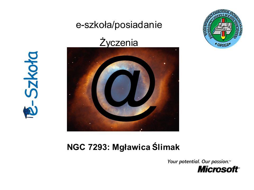 NGC 7293: Mgławica Ślimak @ e-szkoła/posiadanie Życzenia